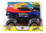Hot Wheels Monster Jam Superman Die-Cast Vehicle, 1:24 Scale