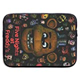 13-15 Inch Laptop Sleeve Case Protective Bag, Waterproof Gaming Computer Bag, IPad Notebook Carrying Cover for Men & Women - Freddy Fazbear FNAF