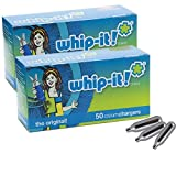 Whip-It! Brand: The Original Whipped Cream Chargers (100 PACK)