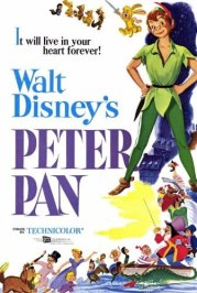 Amazon.com: Peter Pan Movie POSTER 27x40: Prints: Posters & Prints