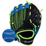 Franklin Sports Neo-Grip Teeball Gloves, Blue, Right Hand Throw, 9'