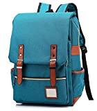 Honeystore Unisex School Bookbag Weekend Travel Laptop Backpack Tourist Knapsack Style1 Peacock Blue