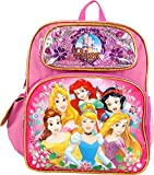 Princess Cinderella Belle Aurora Rapunzel 12 inches Toddler Small Backpack