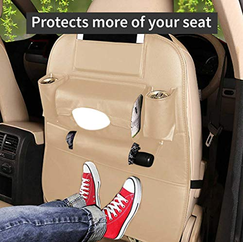 51ef WDzfFL Autofurnish 3D Car Auto Seat Back Multi Pocket Storage Bag Organizer Holder Hanger Accessory