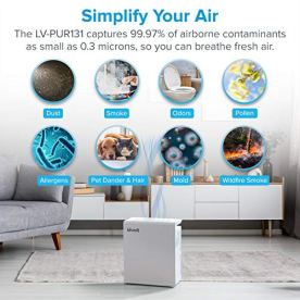 LEVOIT-Air-Purifier-for-Home-Bedroom-H13-True-HEPA-Filter-for-Extra-Large-Room-Air-Cleaners-for-Allergies-and-PetsMoldPollenDustSmoke-and-Odor-Eliminator-Auto-Mode-and-TimerLV-PUR131