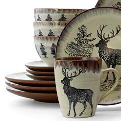 Elk 16pc Dinnerware