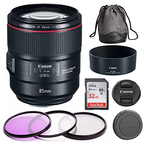 Canon EF 85mm f/1.4L IS USM – DSLR Lens