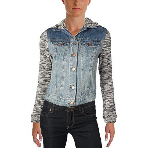 Jessica Simpson Women's Pixie Jacket W/Hood, Zoe/Zoe, XS