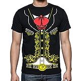 Viva Mexico Men's Mariachi T-Shirt X-Large Black