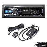 Alpine UTE-62BT Advanced Bluetooth Media Receiver with Sirius XM tuner bundle