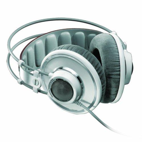 AKG Pro Audio AKG K701 Reference class premium headphones, White (