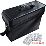 Large Fireproof Document Bag by Nicetech (15'x12'x5') Fireproof Bag up to 2000°f Fire Safe, Premium Portable Waterproof Fire Proof Bag for Home, Keep Valuable Documents Safe, Money, Passport, Jewelry