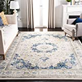 Safavieh Evoke Collection Vintage Oriental Ivory and Blue Area Rug (9' x 12')