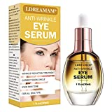 Eye Serum,Under Eye Cream,Anti Wrinkle Eye Serum,Anti Ageing Eye Serum,Hydrating Eye Serum,For Dark Circles, Puffiness - Reduces Wrinkles, Bags, Saggy Skin & Puffy Eyes Great Eye Treatment