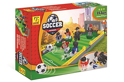 Building Toys Teens : Brick land soccer stadium building bricks toy set for kids