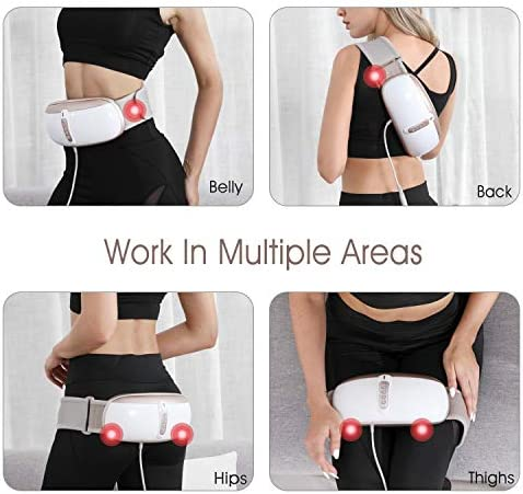 OWAYS Slimming Belt, Weight Loss Machine for Women, Adjustable Vibration Massage with Mild Heat, 4 Massage Modes, Belly Fat Burner, Promote Digestion, NOT Cordless 6