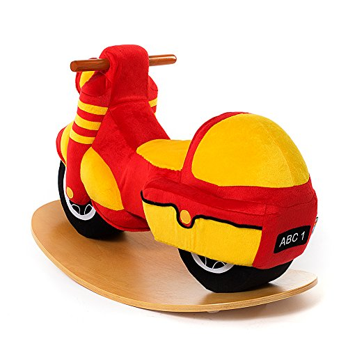Toys For Girls 1 3 : Labebe wooden rocking horse for toddlers cool