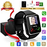 Smart Watch,Bluetooth SmartWatch with Camera Touchscreen,Smart Watches Waterproof Unlocked Phones Watch with SIM Card Slot,SmartWatches Compatible with Android Phone XS 8 7 6 Samsung Huawei Men Women