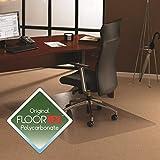 Cleartex XXL General Office Mat, Rectangular, Strong Polycarbonate, for Carpets, 60' x 79' (FR1115020023ER)