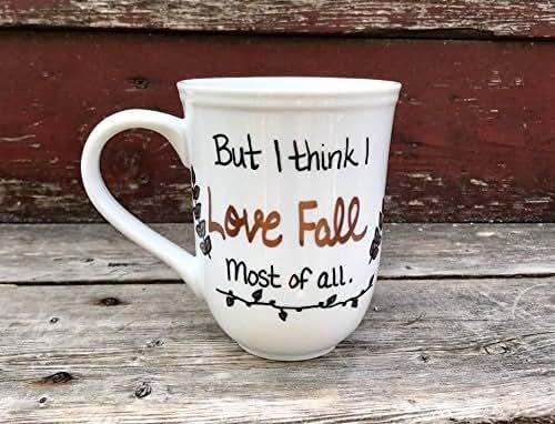 Download Amazon.com: But I think I Love Fall most of all mug Fall ...