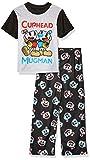 CupHead Boys' Big 2-Piece Pajama Set, Classic Chums, 8