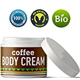 Coffee Body Lotion For Cellulite Slimming Firming Skin Tightening Anti-Aging Natural Skin Care Cream With Caffeine Shea Butter Coconut Argan Oil Body Sculpting Dry Skin Moisturizer For Smooth Skin