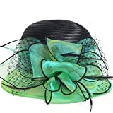 Product review of Kentucky Derby Dress Church Cloche Hat Sweet Cute Floral Bucket Hat