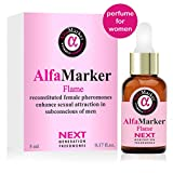 Pheromones to Attract Men Human Pheromones Formula Alfamarker Concentrated Oil Essence for Women (Flame)