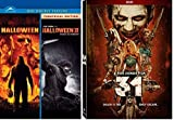 Halloween Collection - Halloween 1 / Halloween 2 Family is forever 2007 & 2009 + 31 Movie a Rob Zombie DVD