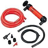Koehler Enterprises RA990 Multi-Use Siphon Fuel Transfer Pump Kit (for Gas Oil and Liquids)