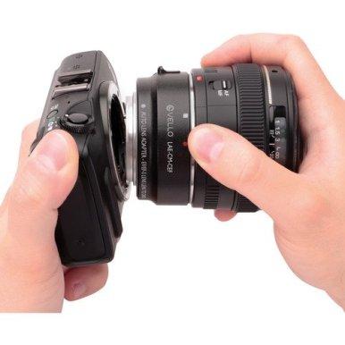 Vello-Auto-Lens-Adapter-for-Canon-EFEF-S-Lenses-to-Canon-EOS-M-Camera