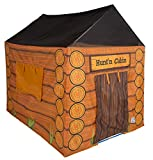 Pacific Play Tents 61804 Kids Hunt'n Cabin Tent Playhouse, 48' x 38' x 48'