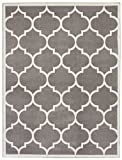 Sweet Home Stores Clifton Collection Light Grey Moroccan Trellis Design (5 x 7) Area Rug