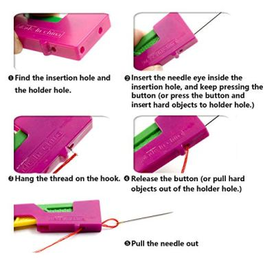 Automatic-Needle-Threading-Device-Self-Thread-Guide-Hand-Plastic-Sewing-Needle-Device-Solve-The-Frustrating-Needle-Threading-Problem-Fit-Easy-Use-and-CarryRandom-Color-3-Pack