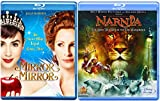 Legend Comes Alive Mirror Mirror Fairy Tale & Chronicles Narnia Disney Lion, Witch & Wardrobe Blu Ray Magical Double Feature