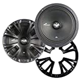 Audiopipe 8' Mid Bass 300 Watts Max with Grills Pair Packed