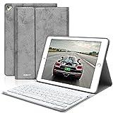 BAIKEN iPad Keyboard Case 9.7 for iPad 2018(6th Gen)/iPad 2017 (5th Gen)/iPad Pro 9.7/iPad Air 2&1 - iPad Case with Detachable Bluetooth Keyboard