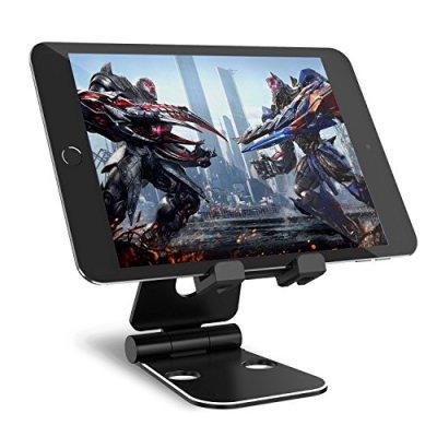 Syncwire tablet Supporto–regolabile 2x 270° supporto da tavolo portatile compatibile per iPad Pro Air Mini, iPhone, Nintendo interruttore x 8/7/6s/6Plus, Samsung Galaxy Tab, Kindle Fire–nero