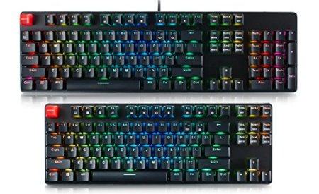 Glorious Modular Mechanical Gaming Keyboard - Tenkeyless TKL (87 Key) - RGB LED Backlit, Brown Switches, Hot Swap Switches (Black)(GMMK-TKL-BRN)