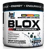 BPI Sports Blox Performance Refreshing Amino Acid Drink Mix, Blue Raspberry, 5.29-Ounce