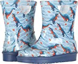 UGG Unisex T RAHJEE Desert Dino Rain Boot, Ballad Blue, 11 M US Little Kid