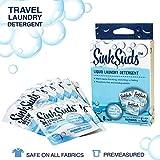 SinkSuds Travel Laundry Detergent Liquid Soap + Odor Eliminator for All Fabrics Including Delicates, (TSA Compliant), 8 Sink Packets (0.25 fl oz each)