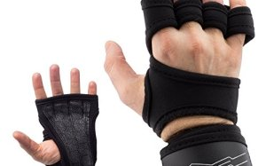 Valence Workout & Weightlifting Gloves - For Cross Training,Weight Lifting,Gym Workout,& Fitness. Adjustable Wrist Support. Anti-blister Hand Protection - For Men & Women
