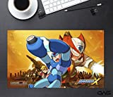 CWS Media Group Officially Licensed Mega Man X Mousepad Playmat (24' x 14' Inches)