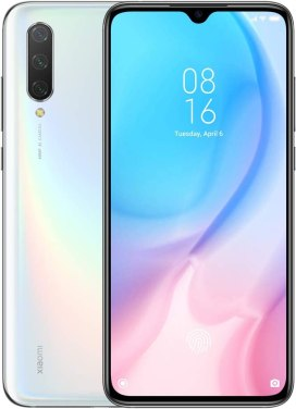 Xiaomi Mi 9 Lite smartphone front and back side