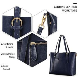 Kattee-Womens-Genuine-Leather-Tote-Bag-Vintage-Large-Capacity-Satchel-Work-Purses-and-Handbags-with-Ajustable-Straps