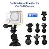 Bluskysea Car Dash Camera Mount Holder Bracket Suction Cup 360degree For G1W G1W-C/CB LS300W GT550S G1WH SJ5000x/4000/7 Git2P YI
