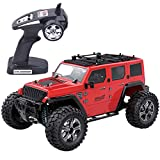 Bravetoshop Remote Control Off-Road Jeep Toy Car for Kids - Equipped with Metal Drive Shaft Cup and Assembly, Waterproof Rating IPX4