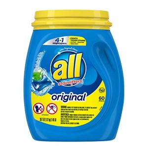 All Mighty Pacs Laundry Detergent 4 In 1 Stainlifter, Tub, 60 Count 51fSGalv5aL