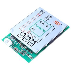 Icstation 12V 150A 3S Lithium Battery Protection PCB BMS Board with Balance for 18650 18550 Li-ion Lipo Battery Cell Pack Sqaure